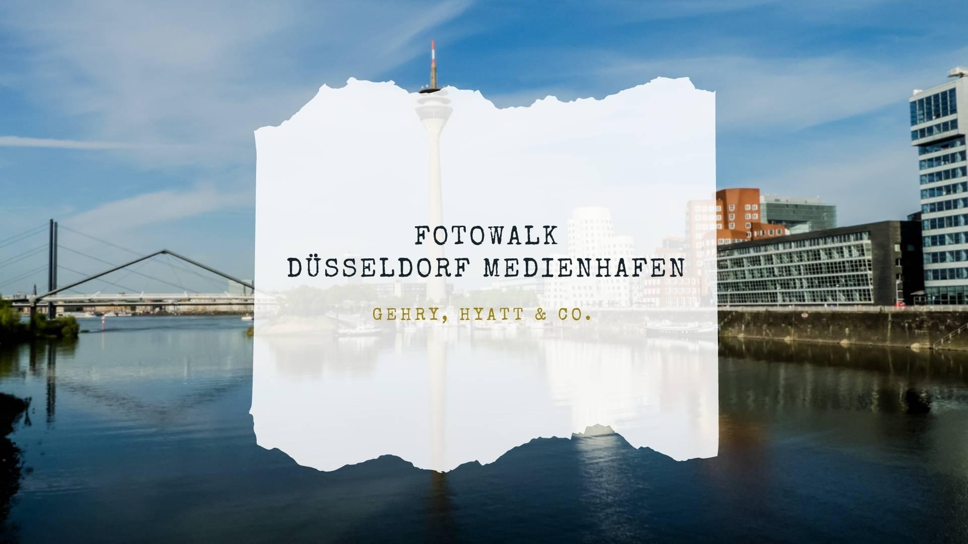 Read more about the article Fotowalk Düsseldorf Medienhafen
