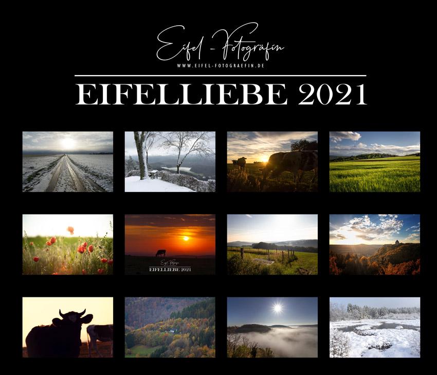 "Kalender ""Eifelliebe 2021"" - Eifel-Fotogräfin.de"